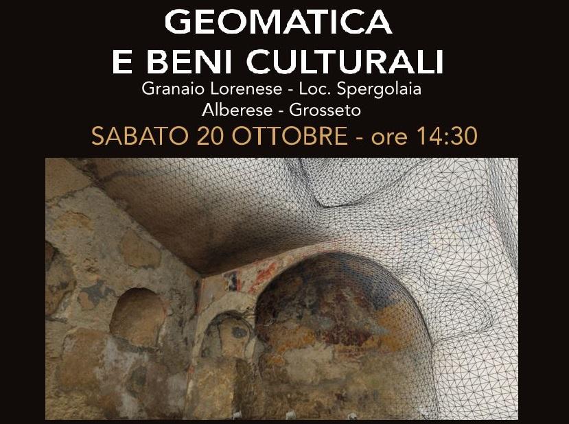 Geomatica e beni culturali