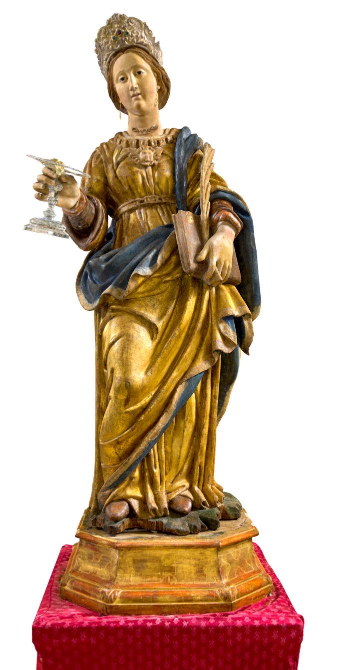 La Statua di Santa Lucia di Pignola